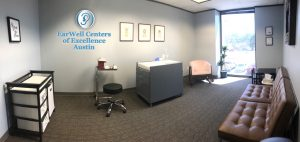 exam room EarWell Center Austin